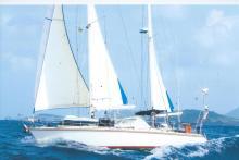 Amel Santorin Ketch : En navigation